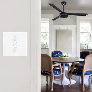Interruptor de pared inteligente con Wifi para ventiladores