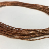 Silk and Nylon 1mm Mesh Necklace