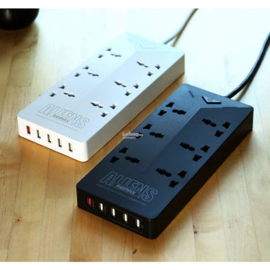 CellPhonez.in - Aliens RU-S4  6 Socket 5 USB Extension Socket