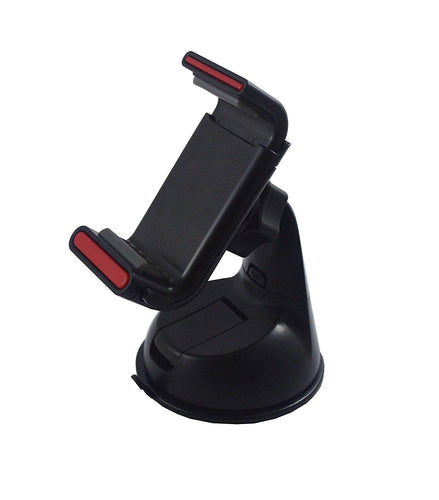 CellPhonez.in - Multipurpose All-in-one Car Holder Kit for Mobiles - Black