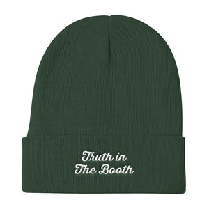 Truth In The Booth Beanie