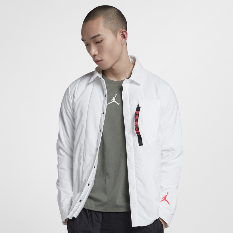 Nike Jordan 23 Engineered Quilted Jacket White (AJ1053-100)