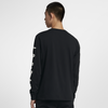 Nike Jordan Graphic Long-Sleeve Basketball T-Shirt Black (AQ3702-010)