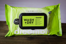 Load image into Gallery viewer, Dreambly Wash+Dry Sheets (40ct)