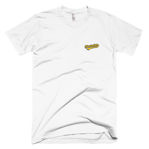 Embroidered Kalkulus Short-Sleeve Unisex T-Shirt