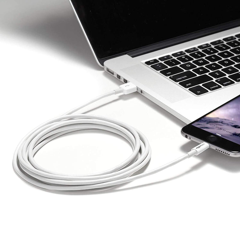 USB Cable - Apple MFi Certified - White - 1 Meter