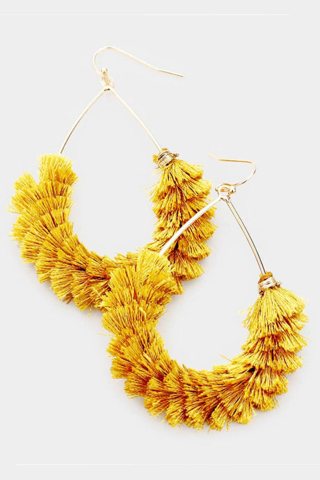 FruFruis Earrings Mustard