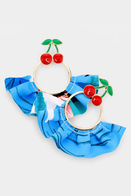 Fru Fru Cherries Earrings