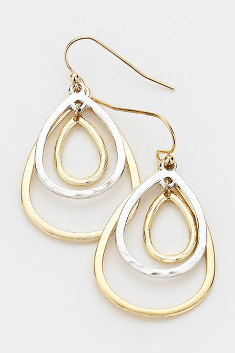 Trinity Ovals Earrings