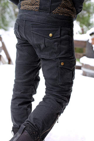 Moto Maxx Pants - Washed Black