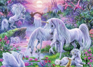 Unicorn full diamond painting