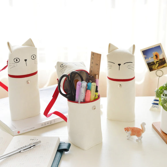 Cute cat pencil bag