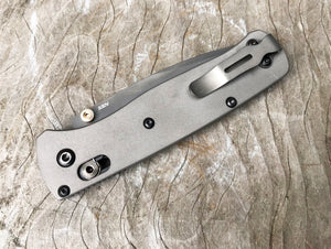 Titanium Scales for Benchmade Bugout 535 - No Lanyard