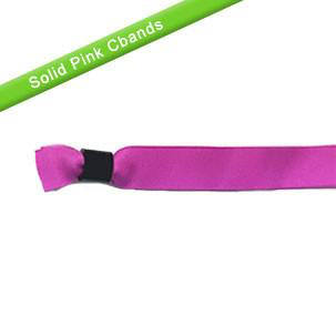 Cloth Wristband Fuchsia