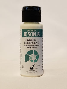 Jo Sonja's Iridescent Colors - Iridescent Green 2oz Bottle
