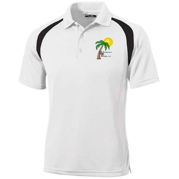 T476 Sport-Tek Moisture-Wicking Tag-Free Golf Shirt - Logo