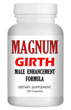 Load image into Gallery viewer, MAGNUM GIRTH - MALE PENIS ENLARGER THICKER LONGER BIGGER GROWTH 30 ENLARGEMENT PILLS