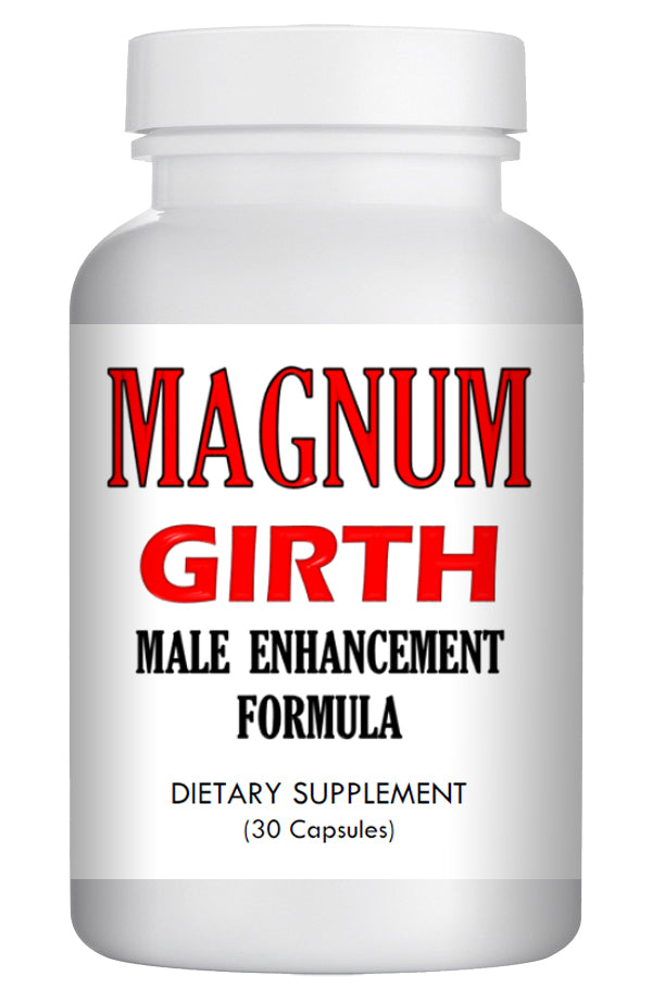 MAGNUM GIRTH - MALE PENIS ENLARGER THICKER LONGER BIGGER GROWTH 30 ENLARGEMENT PILLS