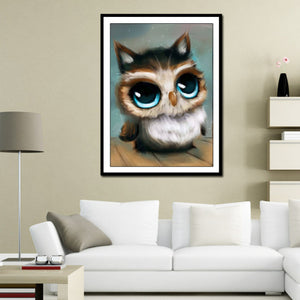 Owl Full DIY Diamond Painting