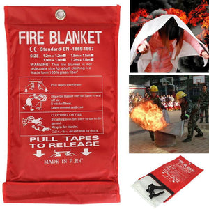Fire Blanket 1x1m Emergency Survival