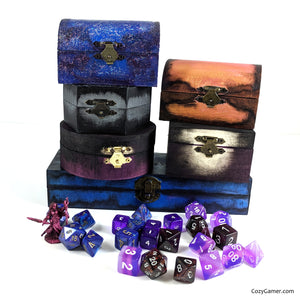 Cozy Gamer Dice Boxes