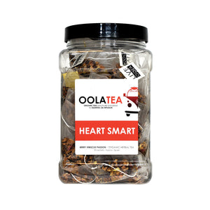 Heart Smart: Berry Hibiscus Passion (50 sachets)