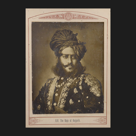 The Raja of Rajgarh