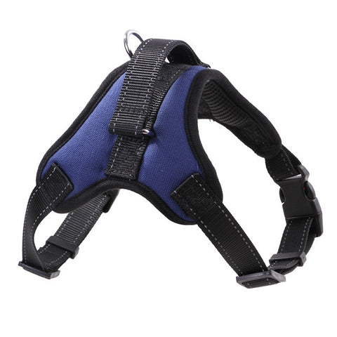 Vest Reflective Tape Breathable Mesh Dogs Leash