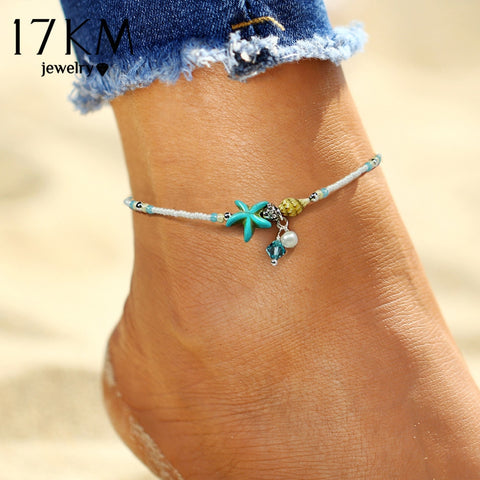 Anklet Beads Starfish Anklets