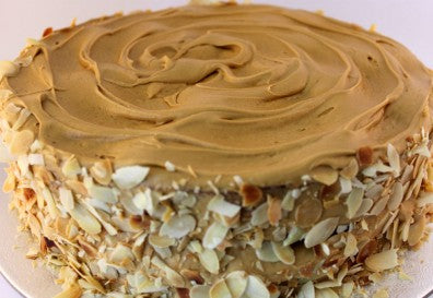 "Large Caramel Mud Cake (10"") 