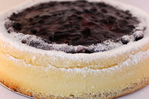 "Double Baked Blueberry Cheese Cake (10"") 