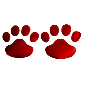 Paw Print Car Decals