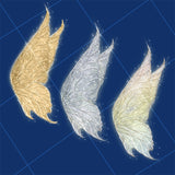 Fairy wings overlay