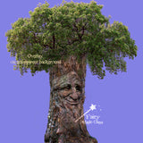 Overlay tree with face