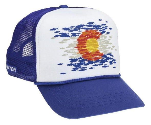 RepYourWater Colorado Flag Fish Mosaic Hat - 1 Shot Gear