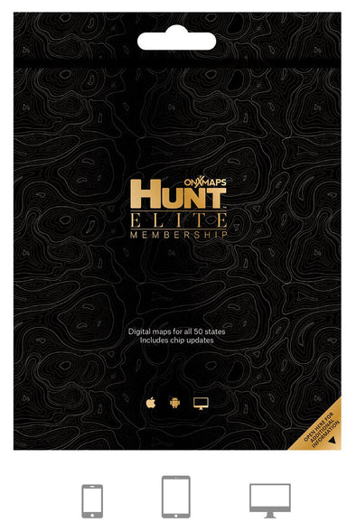 onX Hunt Elite 50 State Digital Map Membership - 1 Shot Gear