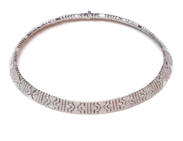 Bulgari Parentesi 18K Gold & Diamond Necklace 1
