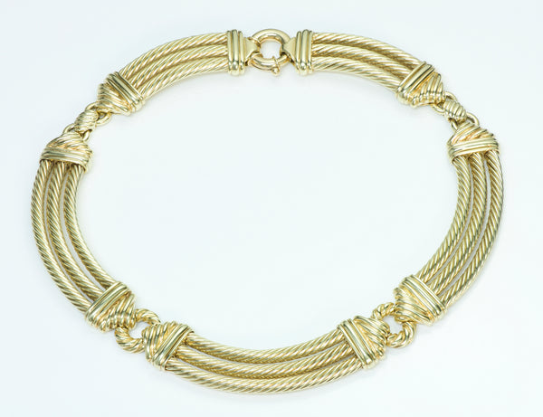 David Yurman 14K Yellow Gold Necklace