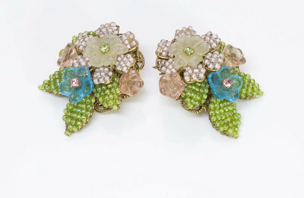 Stanley Hagler NYC Flower Earrings