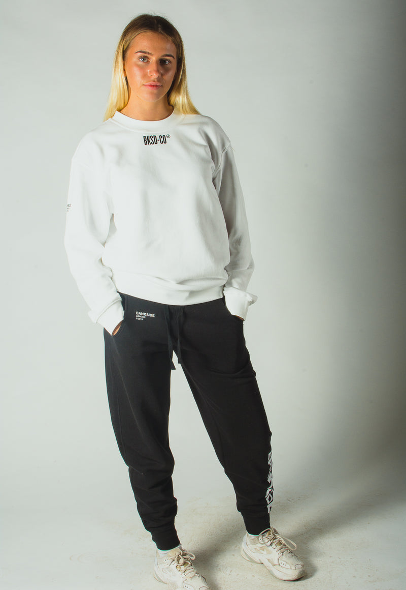 White BKSD Sweatshirt