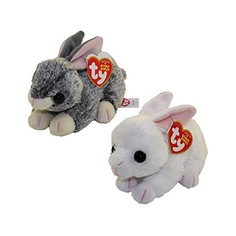 Ty Beanie Babies - 2018 Easter Bunnies Set Of 2 (Smokey &Amp; Cotton) (6 Inch)