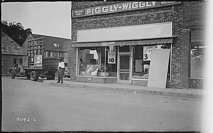 Photo Piggly Wiggly Grocery, 1939