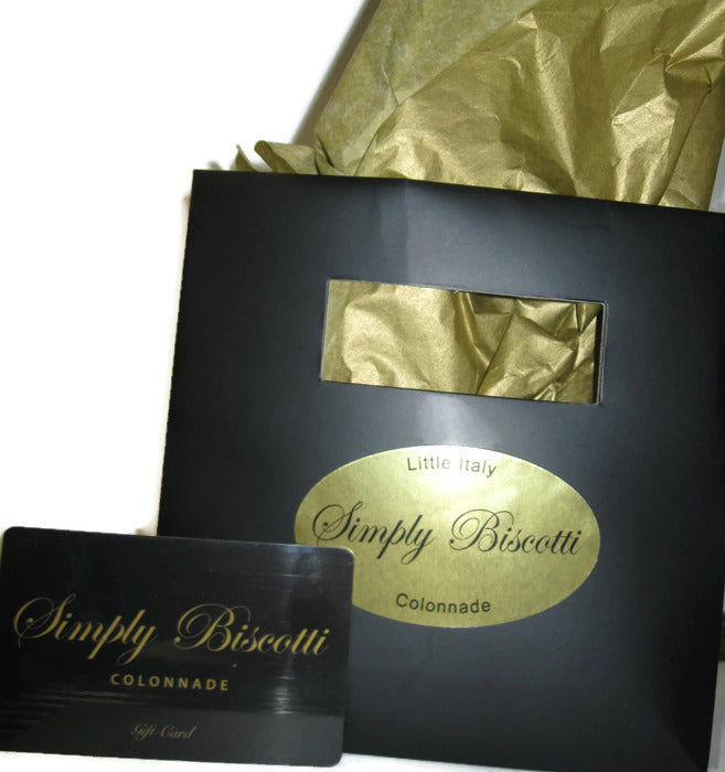 Simply Biscotti Gift Card