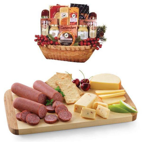 Cheese and Deli Gift Basket