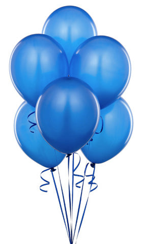 Light Blue Balloon Bouquet