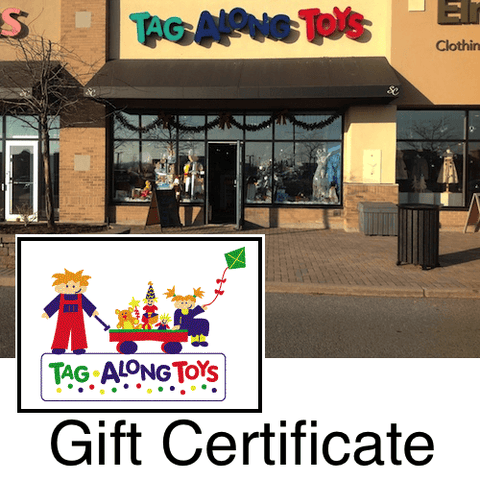 Tag Along Toys Gift Certificate