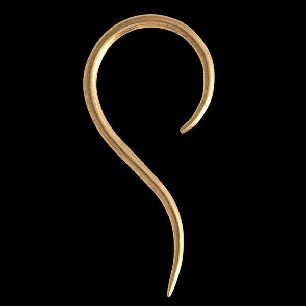 Hook Shaped Gold Hook - Tribu