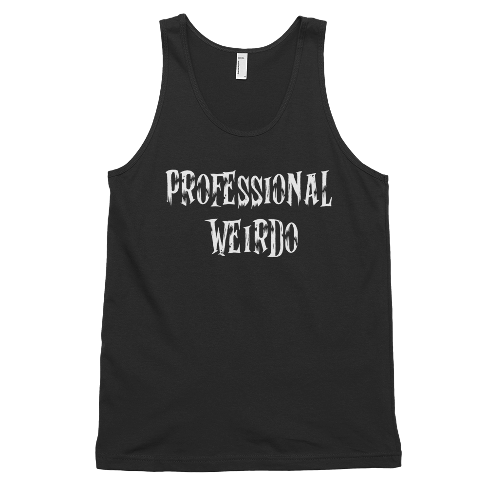 Professional Weirdo black tank