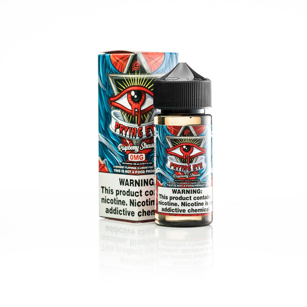 NEW ON SALE VAPESTARS PRYING EYE RASPBERRY STRUESEL AUSTIN TEXAS ELIQUID EJUICE