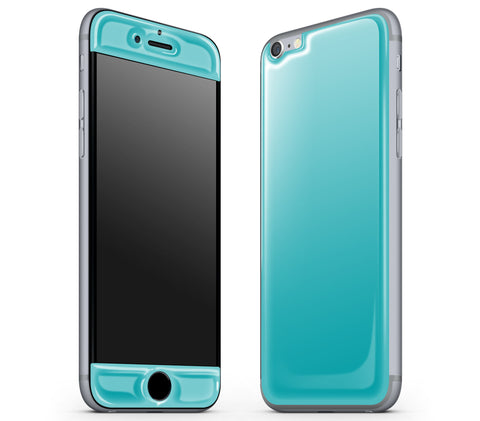 Teal <br>iPhone 6/6s - Glow Gel Skin